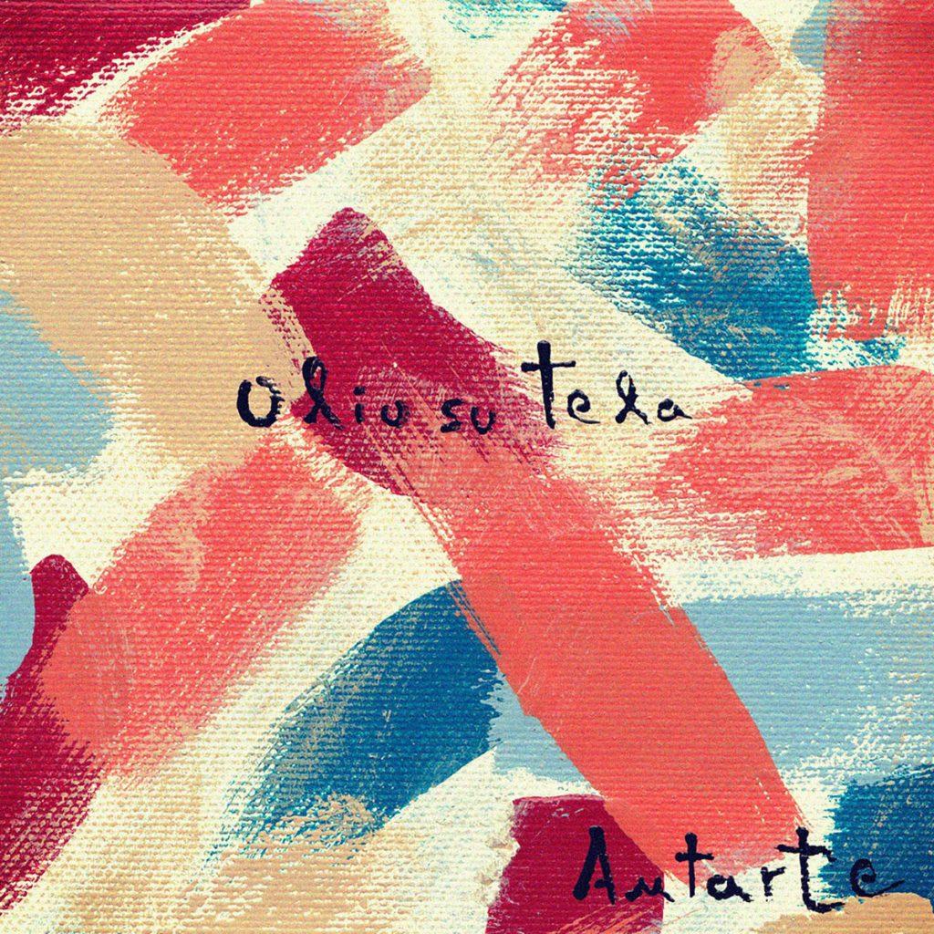 copertina di olio su tela degli antarte