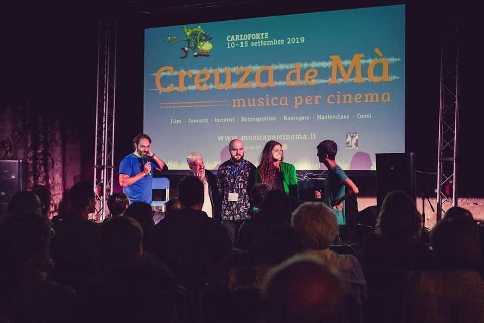Lillo Morreale, Veronica Spedicati, Giovanni Dota, Gianfranco Cabiddu e Neri Marcorè al Creuza de Mà Festival 2019