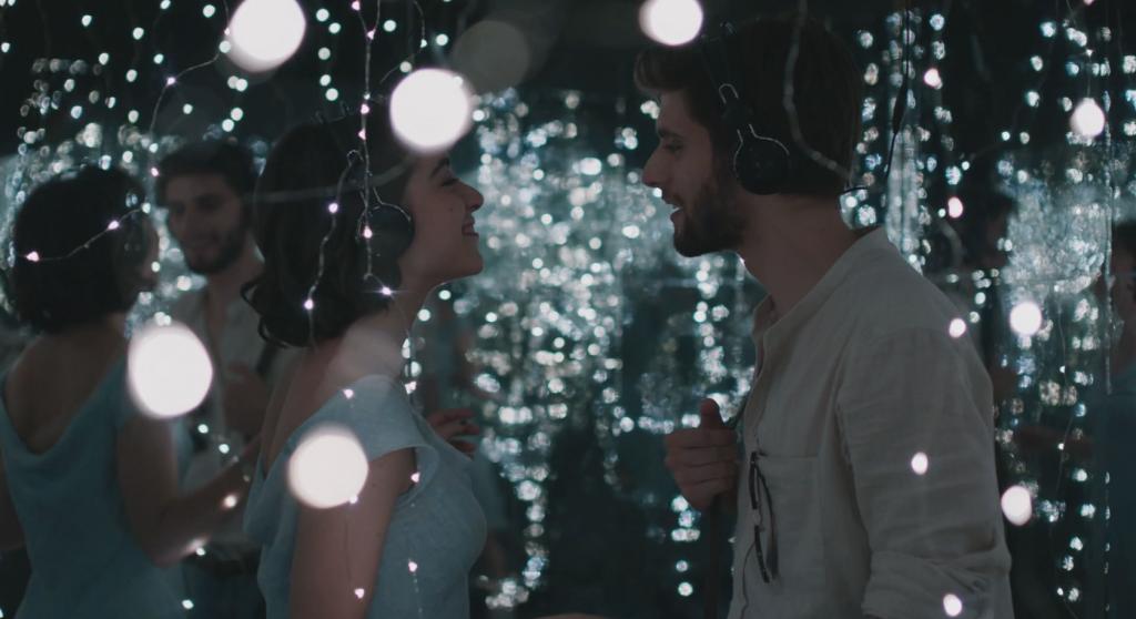 fotogramma del cortometraggio una coppia